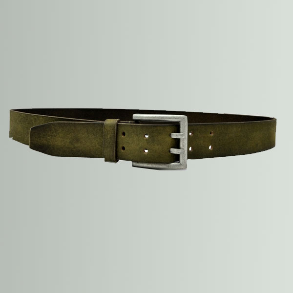 PCB10  Olive colour with black Hand padding Belt